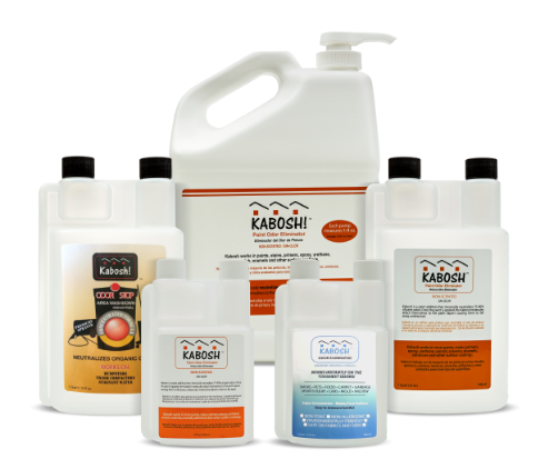 Paint Fumes And Other Offensive Odors Can Be Extremely Disruptive To Normal Operations In Any Interior E Kabosh Odor Eliminating Products Offer An